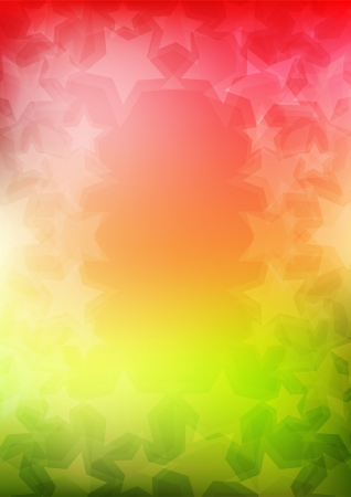 star shapes: Abstract colorful vertical vector background with star shapes