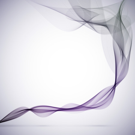 colored smoke: Abstract grunge purple smoke vector background.