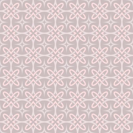 pinky: Seamless pinky beige abstract geometric vector wallpaper.