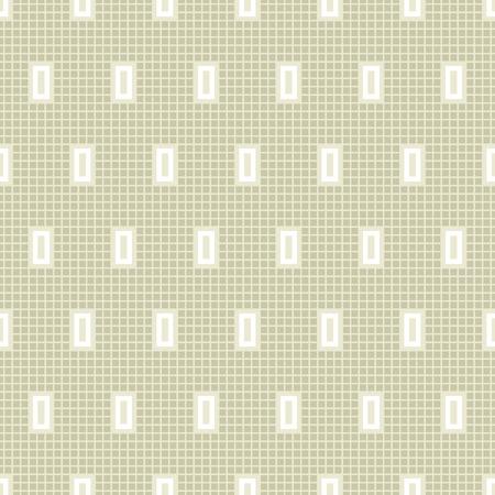 Seamless light green abstract geometrical vector pattern.