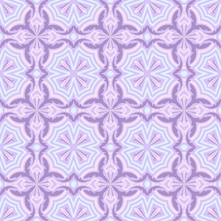 pinky: Seamless purple and pink abstract floral background.