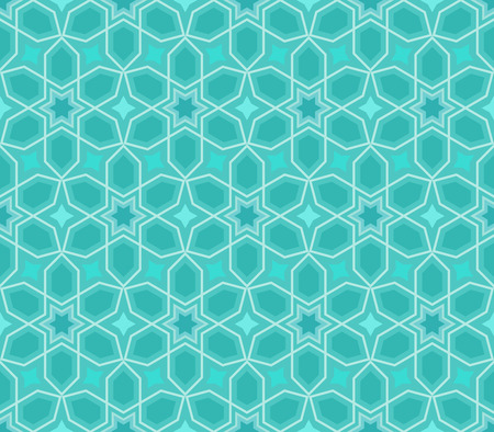 estrellas cinco puntas: Abstract seamless blue star pattern.