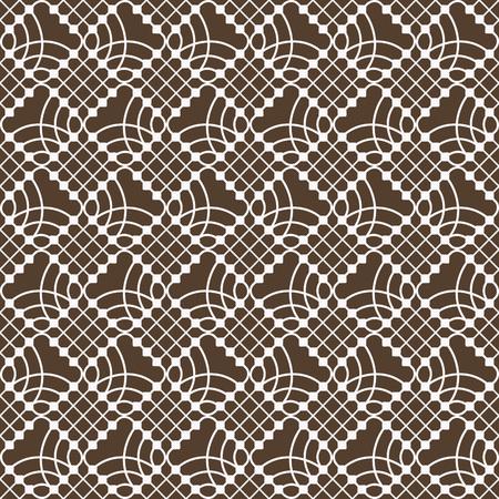 shaped: Seamless diamond shaped geometric vector pattern.