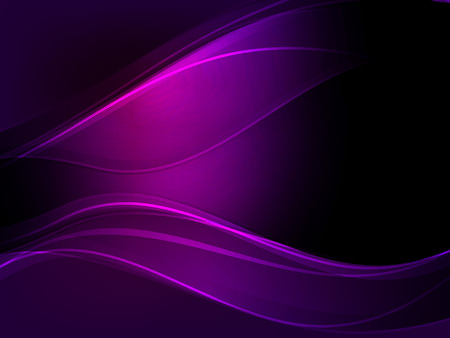 Abstract dark purple wave vector background.