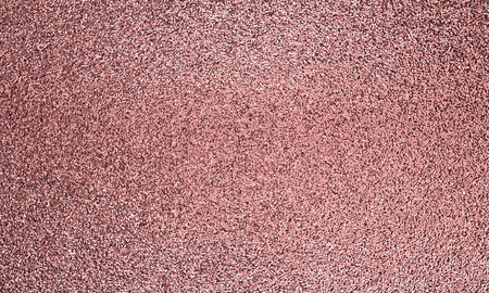 Pink tinsel confetti background. Rose gold bright backdrop. 3D rendering.