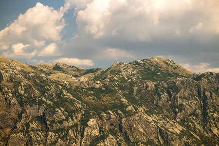 Beautiful mountain landscape on sunny summer day. Montenegro, Bosnia and Herzegovina, Dinaric Alps Balkan Mountains Reklamní fotografie