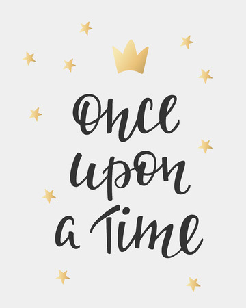 once person: Lettering photography fairy tale girl overlay. Motivational quote. Cute inspiration typography. Calligraphy postcard poster photo graphic design element. Hand written sign. Princess party decor
