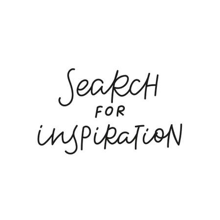 Search for inspiration quote simple lettering sign