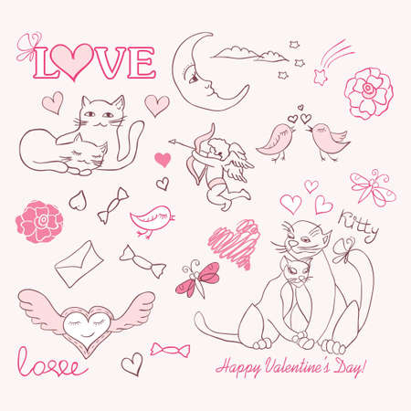 valentine sketch Stock Vector - 12167042