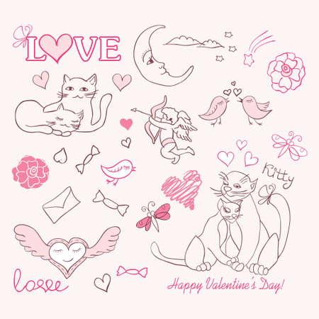 valentine sketch Stock Vector - 12167042