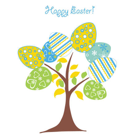 celebrate life: �rbol de Pascua de fondo