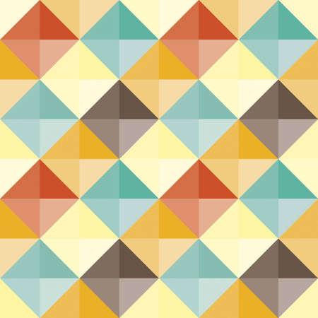trendy shape: Abstract geometric pattern retro
