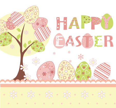 easter background set Vector