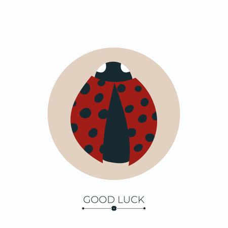 Ladybug lucky charm