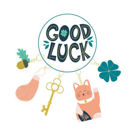 Good luck keychains