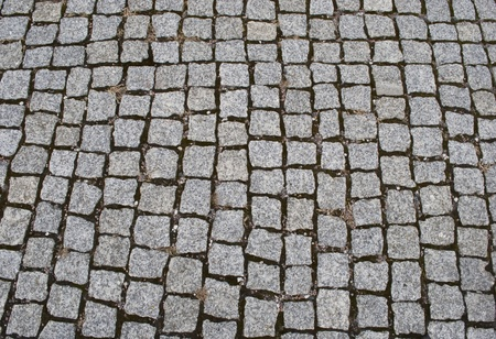 Granite paved street