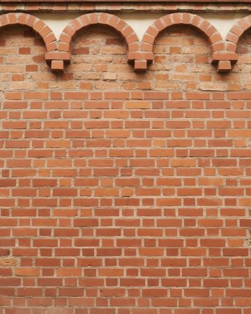 Background of vintage brick wall with pattern Stock Photo - 16849634