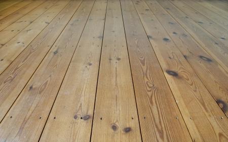 porches: Brown wooden terrace floor