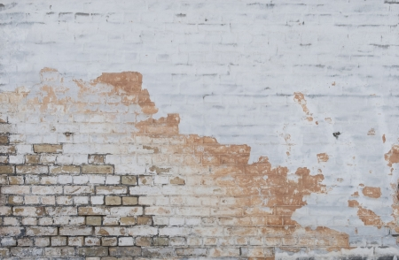 Background of vintage brick wall with  stucco texture Stock Photo - 17514633