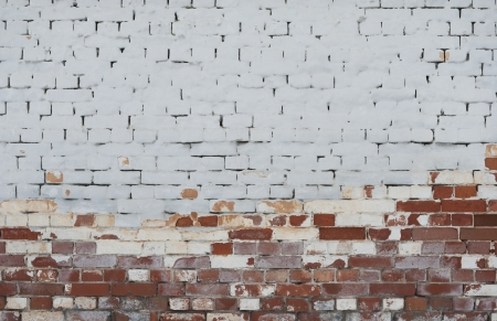 Background of vintage brick wall with  stucco texture Stock Photo - 17514634