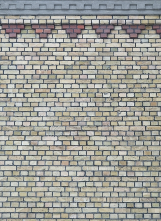 Background of vintage brick wall with pattern Stock Photo - 17514640