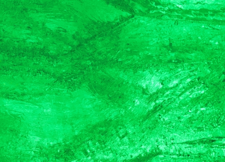 crazing: Texture of ice  with green back light  Abstract background