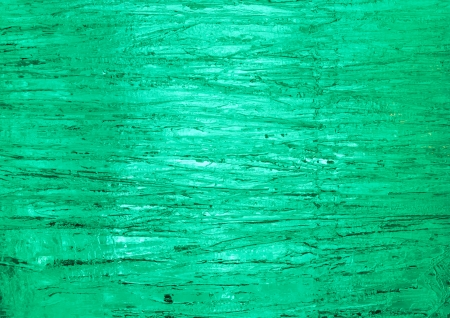Texture of ice  with green back light  Abstract background