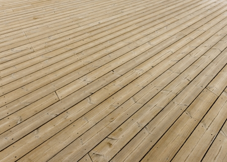 Brown wooden terrace floor as background
