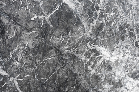 Black and white marble texture as background Stock Photo