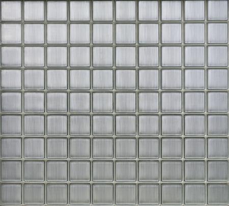 Background of glass blocks wall, pattern