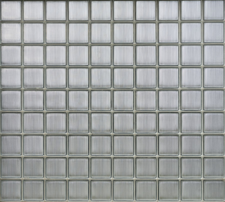 Background of glass blocks wall, pattern