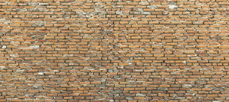 Background of  brown brick wall, texture