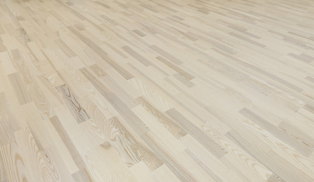 Seamless white wood texture background, light parquet Stock Photo