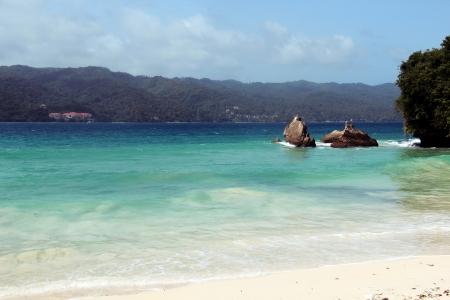sund: Dominican Republic, Bacardi beach Stock Photo