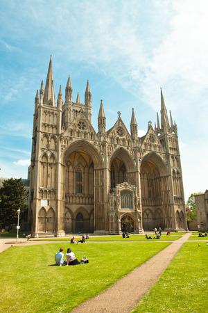 peterborough cathedral UK Cambridgeshire