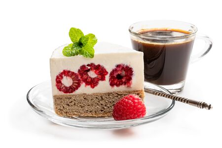 Diabetes approved no sugar cheese cake made from stevia and berry