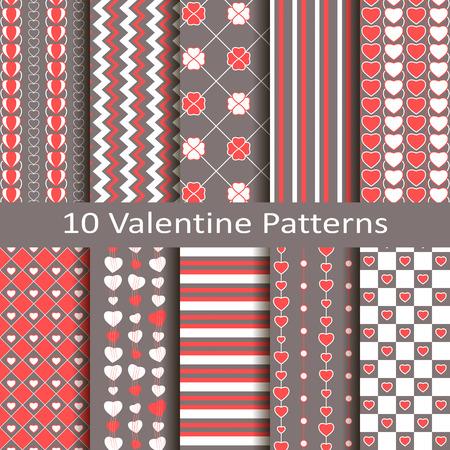 devotion: Set of ten valentine patterns