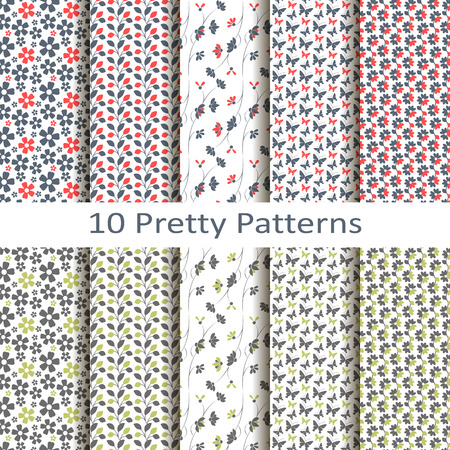 pretty: Set of ten pretty patterns
