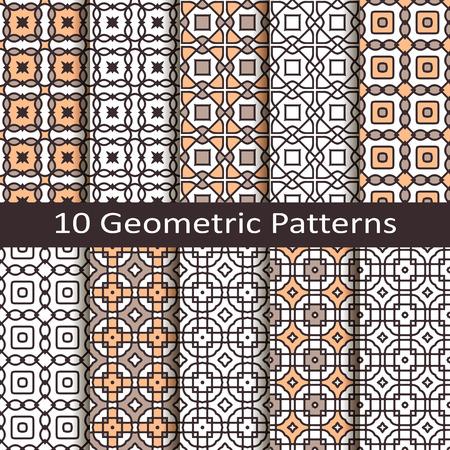 celt: set of ten geometric patterns