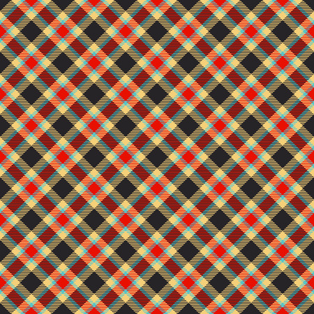 scot: traditional tartan colorful jacquard pattern