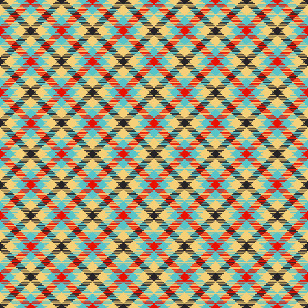 traditional tartan colorful jacquard pattern