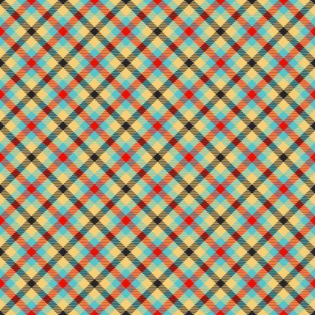 scot: traditional tartan colorful jacquard pattern