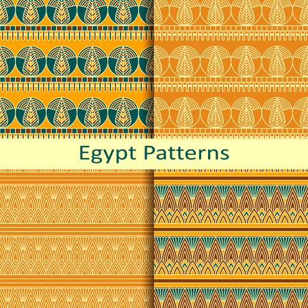 Set di quattro antichi modelli egizi