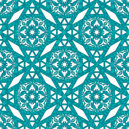 seamless vector arabic geometric elegant pattern design