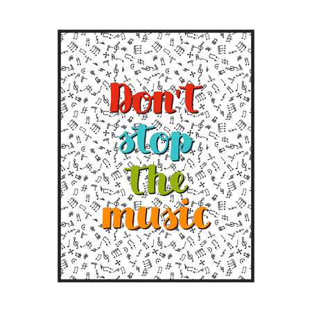 Don't Stop the Music Clip Art