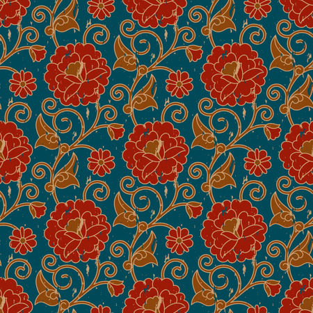 seamless vintage pattern. seamless pattern in swatch panel