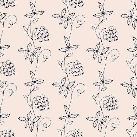 berries. seamless template in swatch panel. design for food industry, textile, print