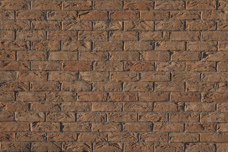 rusty background: Background of old vintage red brick wall texture. Stock Photo