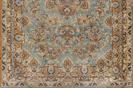 Fondo de antigüedades antiguas alfombras orientales, cerrar