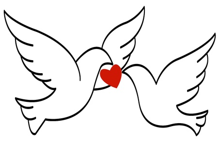 love birds Stock Vector - 17805446
